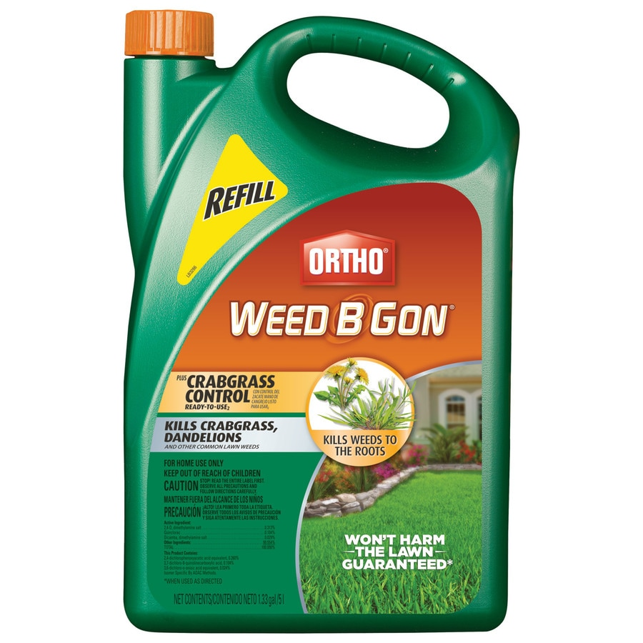 ORTHO 1.33-Gallon Weed B Gon Plus Crabgrass Control Ready-to-Use Refill