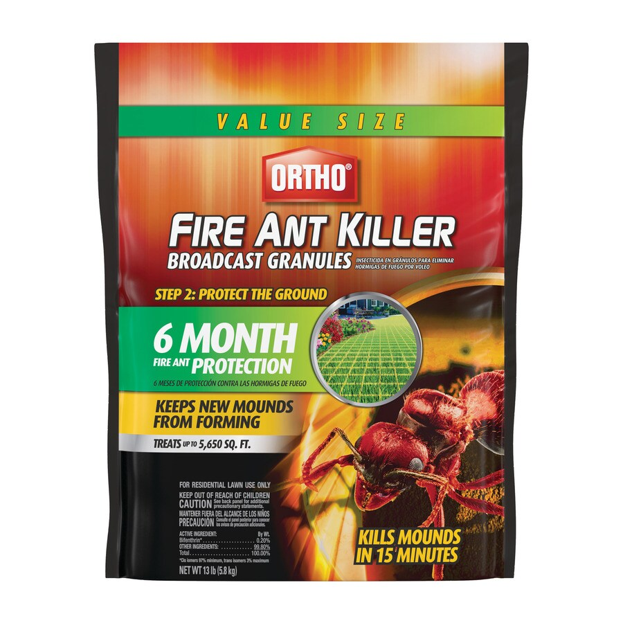 Ortho Fire Ant Killer Broadcast Granules 13 Lb Fire Ant Killer In The Pesticides Department At Lowes Com
