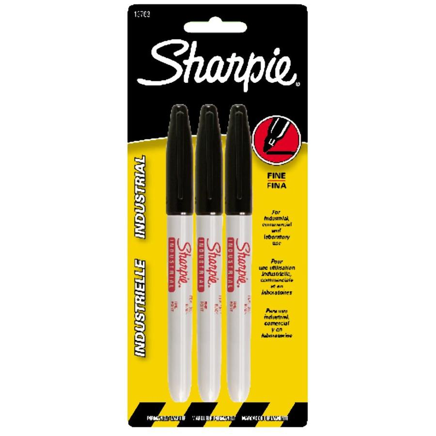 Sharpie Black Industrial Fine Point Permanent Marker