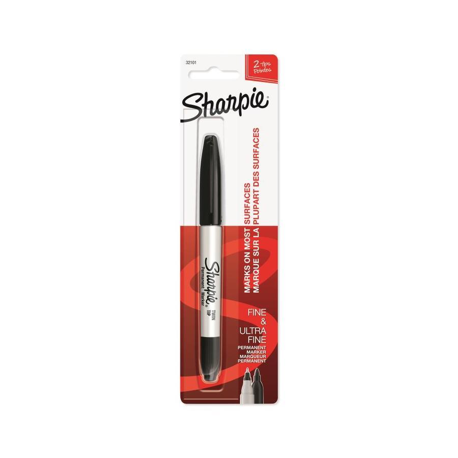 Sharpie Black Twin Tip Permament Marker
