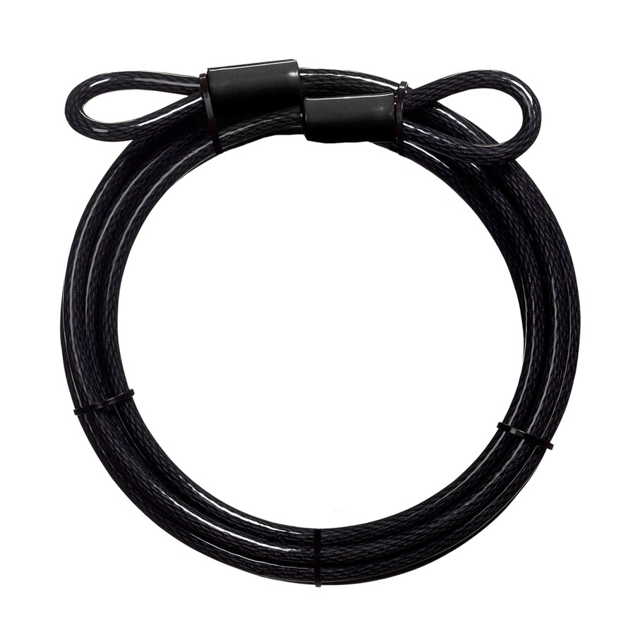 Master Lock 180-in Gray Steel Keyed Cable Lock