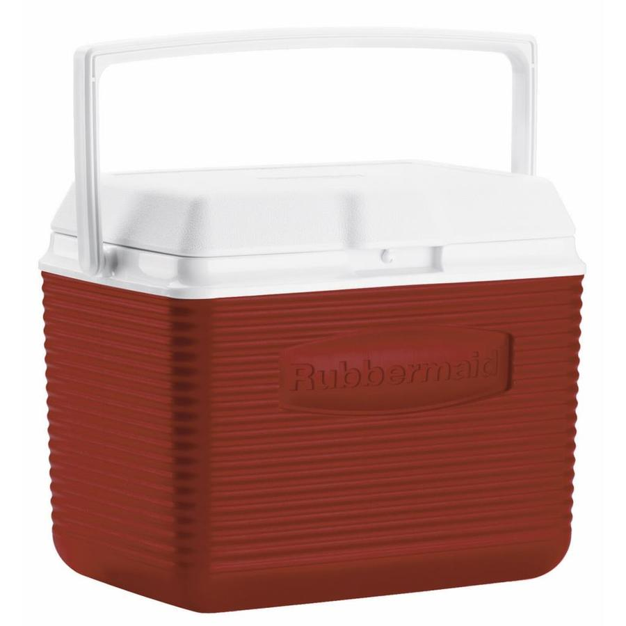 Rubbermaid 10-Quart Plastic Personal Cooler