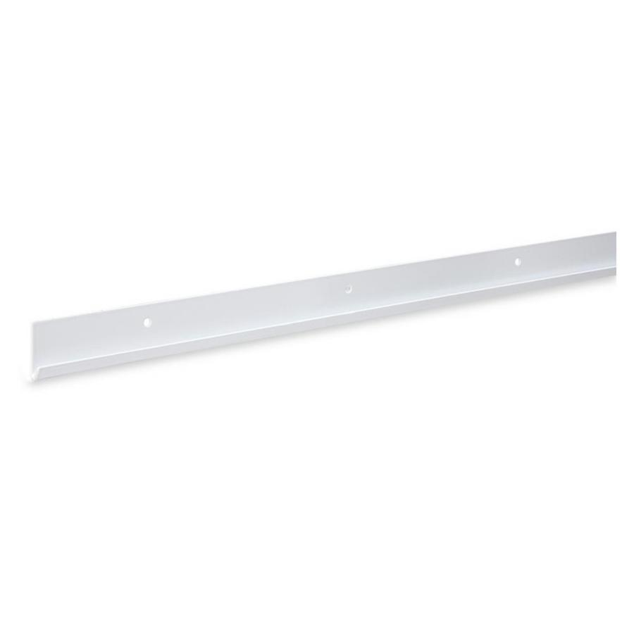 Rubbermaid FastTrack White Rail (Common: 80-in x 1.7-in x 0.5-in; Actual: 80-in x 1.7-in x 0.5-in)