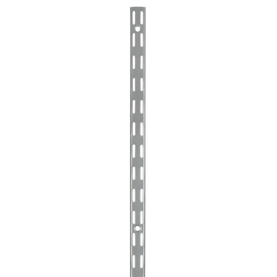 Rubbermaid FastTrack Satin Nickel Upright (Common: 0.875-in x 70-in x 1-in; Actual: 0.875-in x 70-in x 1-in)