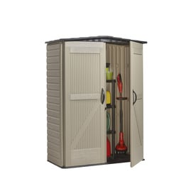 Shop Rubbermaid Roughneck Storage Shed (Common: 5-ft x 2 ...