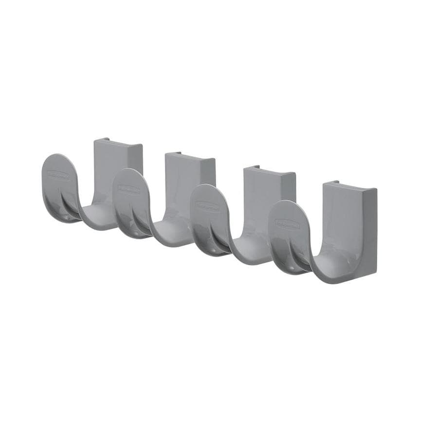 Rubbermaid FastTrack Satin Nickel Steel Add-On Hooks