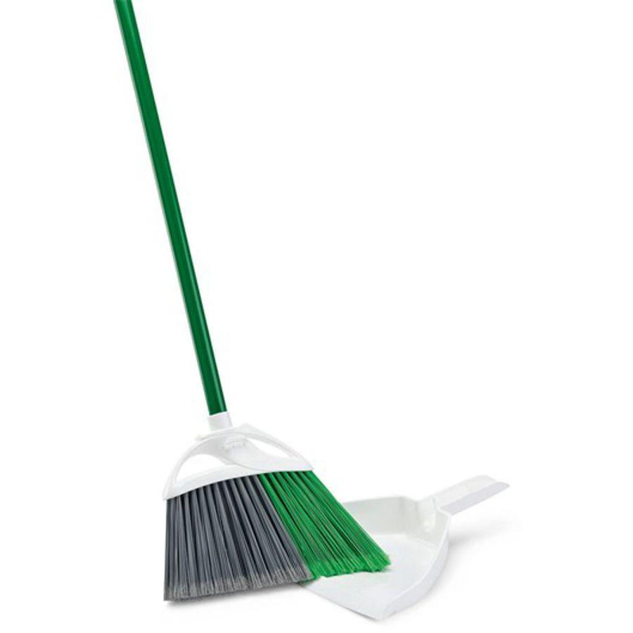 Libman 11.38-in Poly Fiber Soft Upright Broom