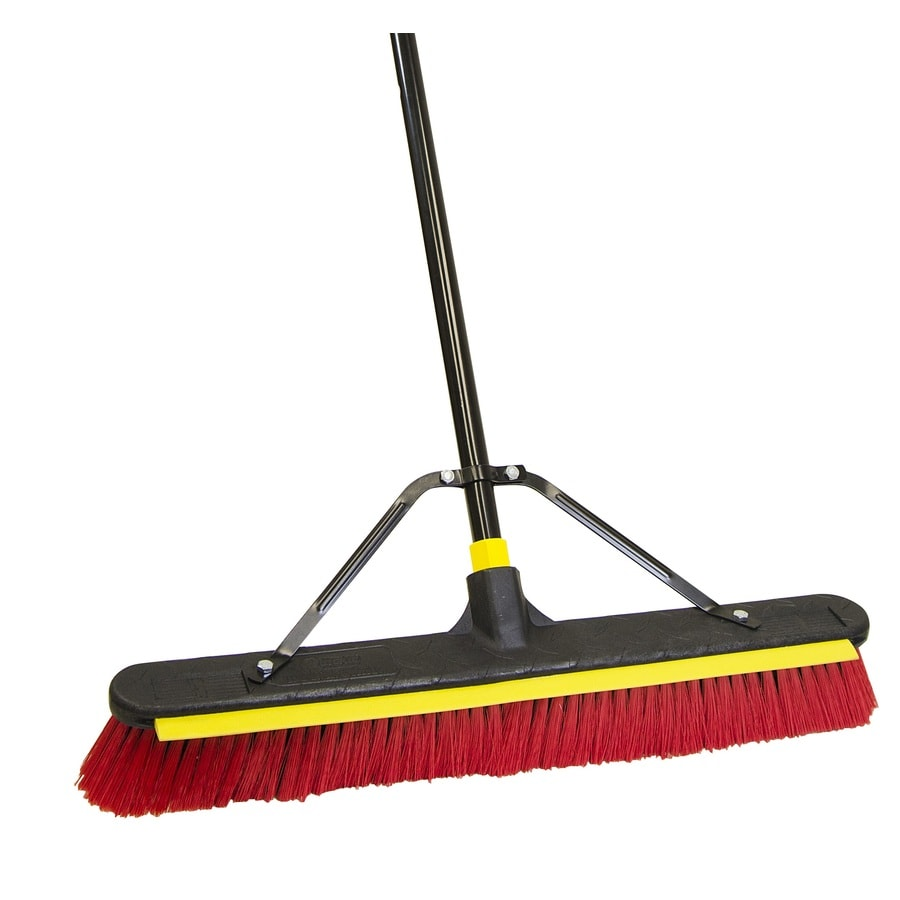 Quickie BULLDOZER Poly Fiber Stiff Push Broom