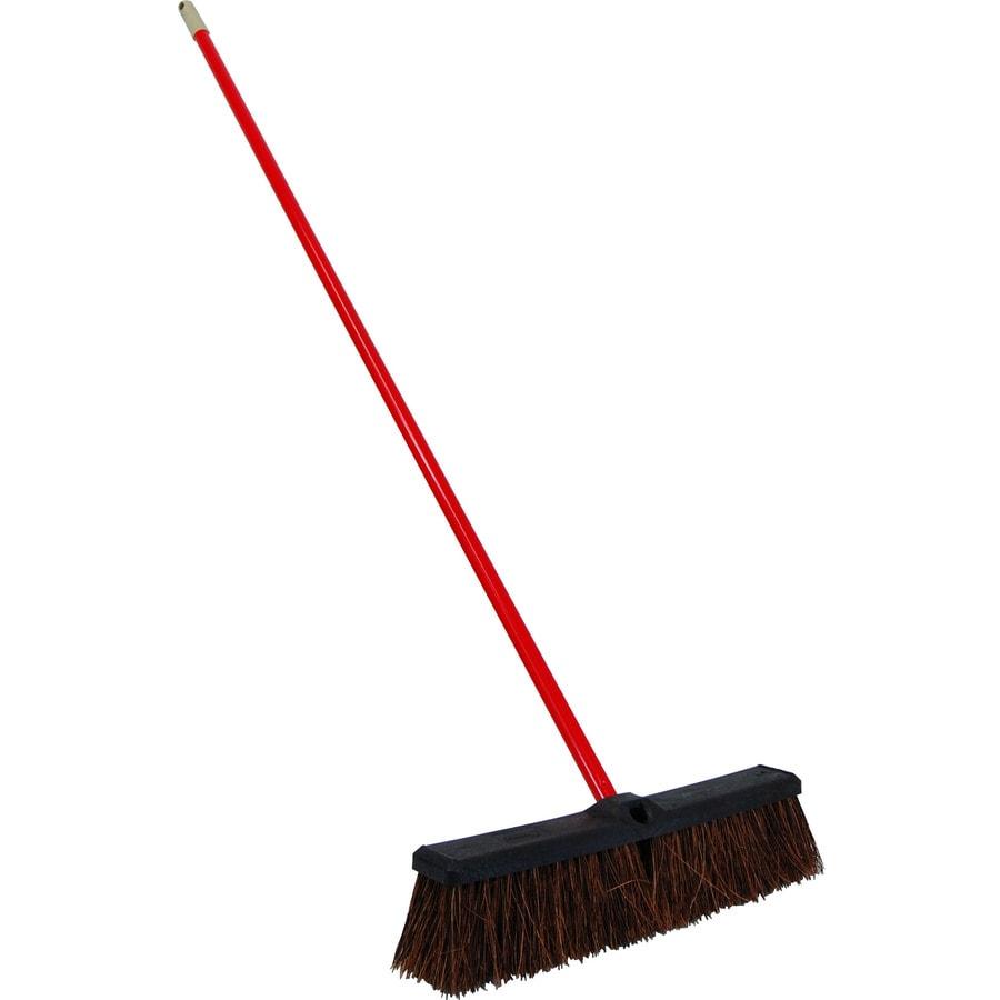 Quickie Poly Fiber Stiff Push Broom