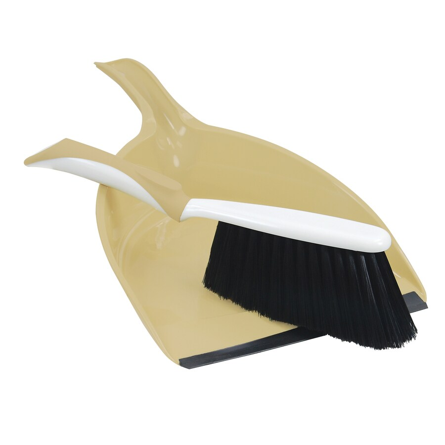 Quickie - Peabody & Paisley Plastic Handheld Dustpan with Brush