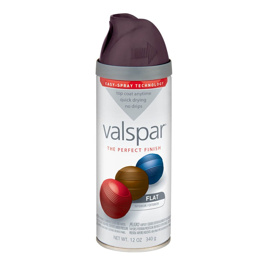 Valspar 12-oz Purple Fury Flat Spray Paint