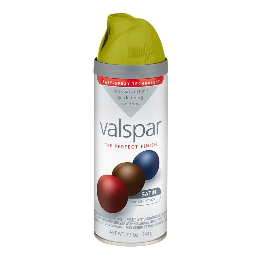 Valspar 12-oz New Avocado Satin Spray Paint