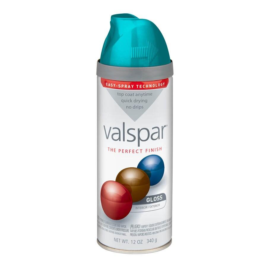 Shop Valspar Exotic Sea Spray Indoor Outdoor Spray Paint At Lowes Com