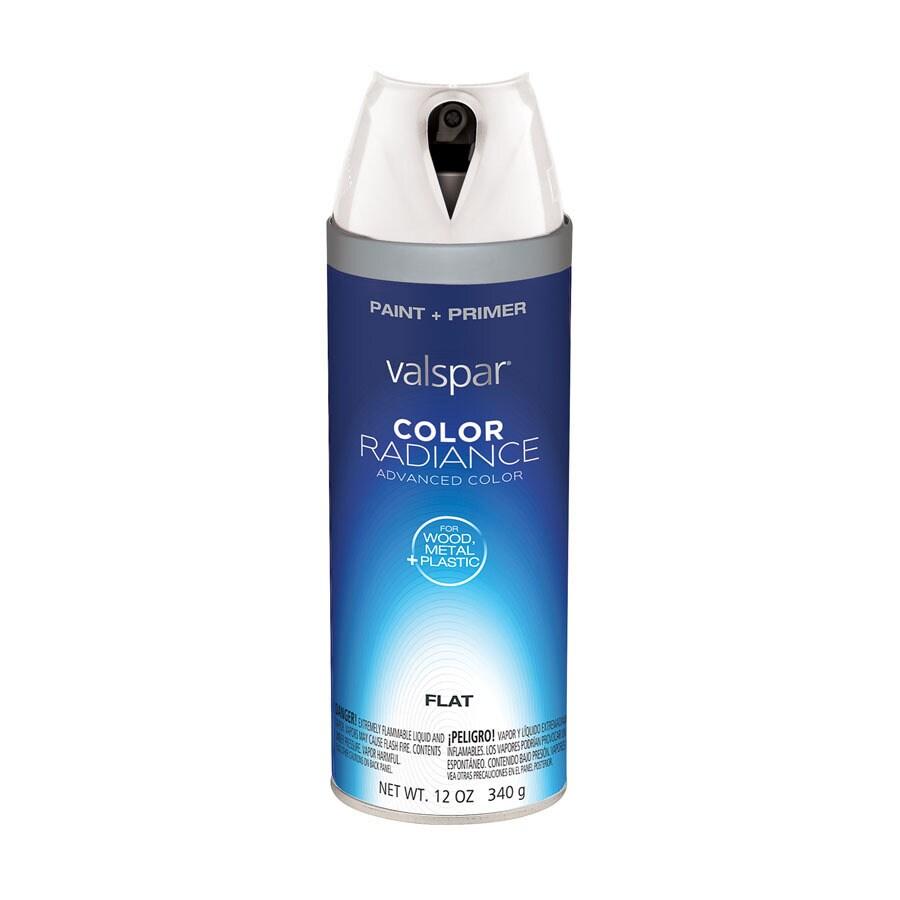 shop valspar white indoor outdoor spray paint at. Black Bedroom Furniture Sets. Home Design Ideas