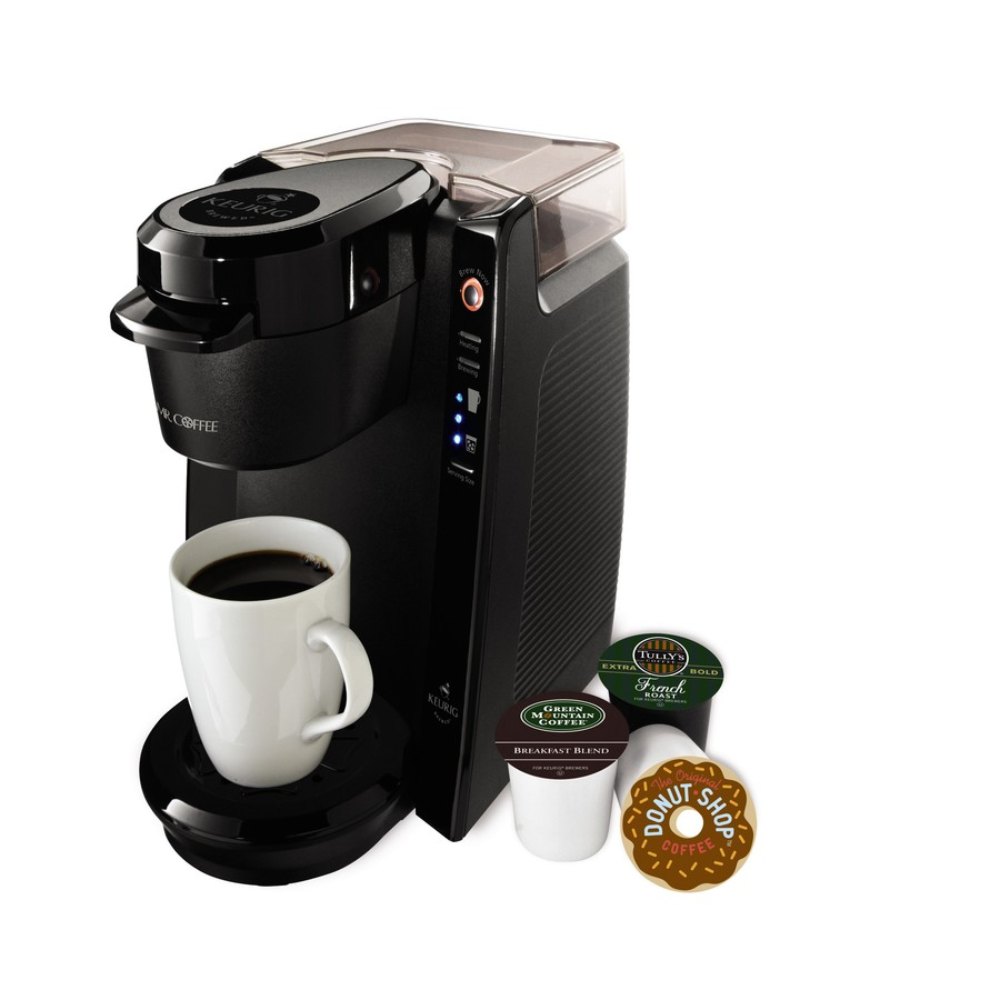 Shop Mr. Coffee Black 1-Cup Coffee Maker at Lowes.com