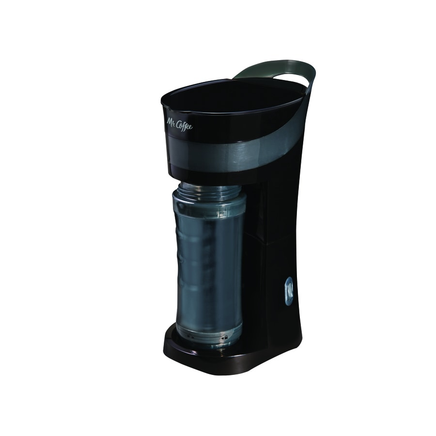 Shop Mr. Coffee 1-Cup Black Coffee Maker at Lowes.com