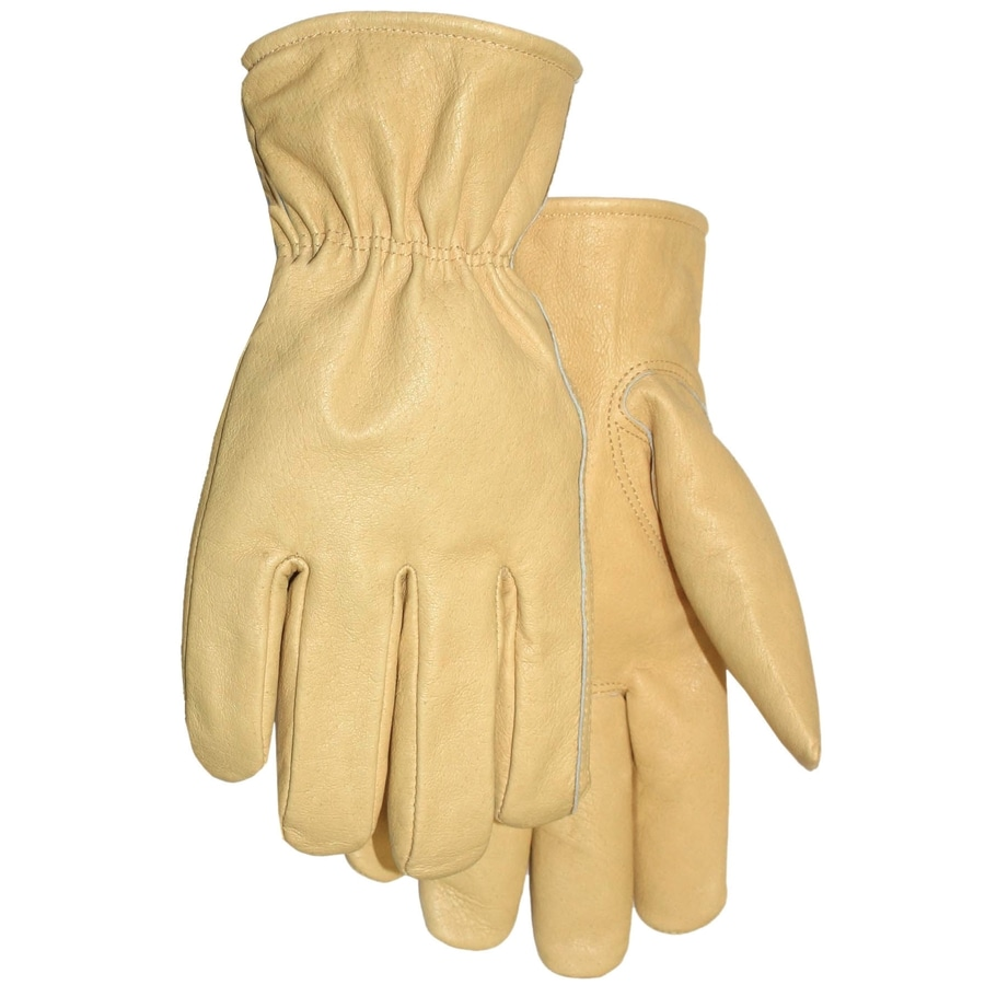 MidWest Quality Gloves, Inc. Large Men's Leather Work Gloves
