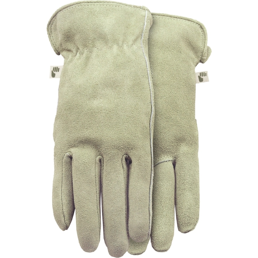 MidWest Quality Gloves, Inc. Large Ladies' Leather Palm Work Gloves