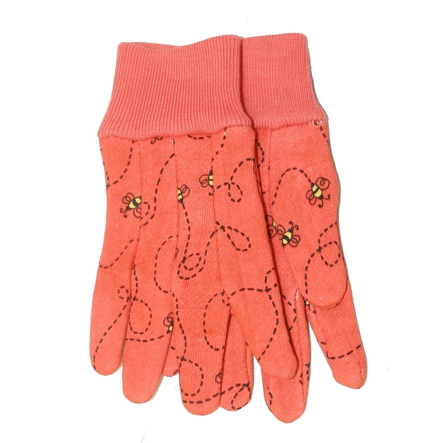 MidWest Quality Gloves, Inc. Children's Multicolor Cotton Garden Gloves