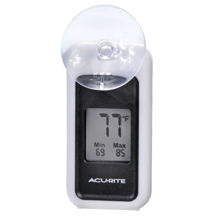 AcuRite Digital Indoor/Outdoor Silver Thermometer