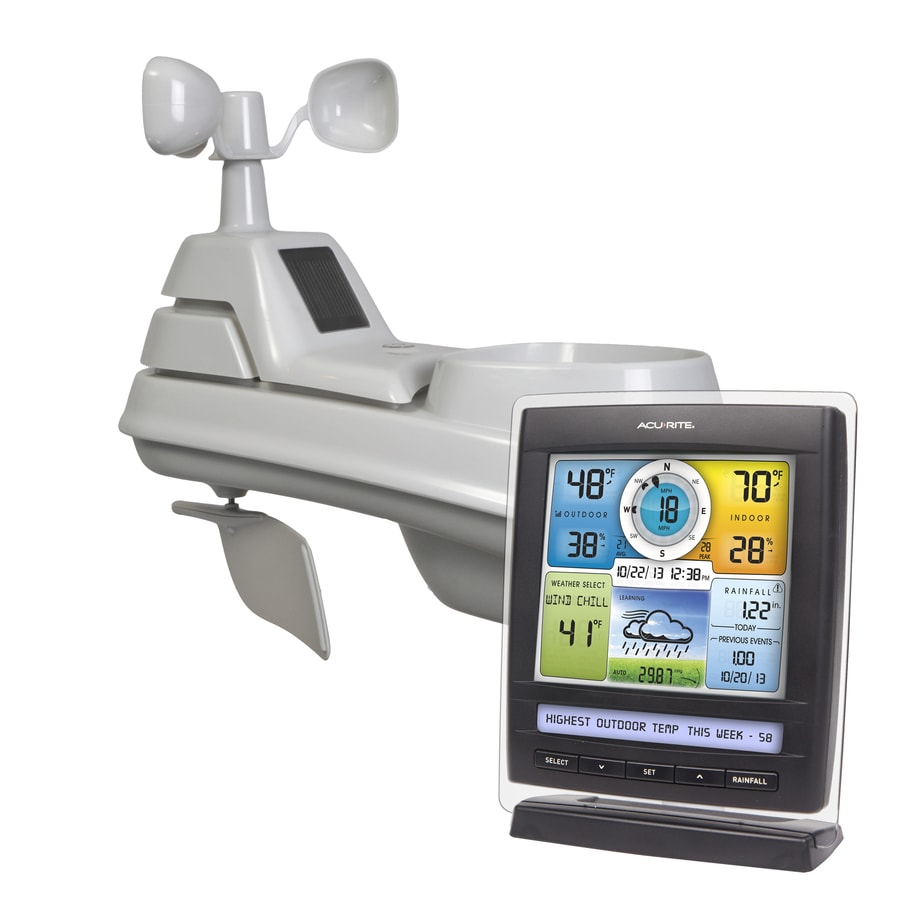 Shop AcuRite Digital Weather Station Wireless Outdoor Sensor at Lowes.com