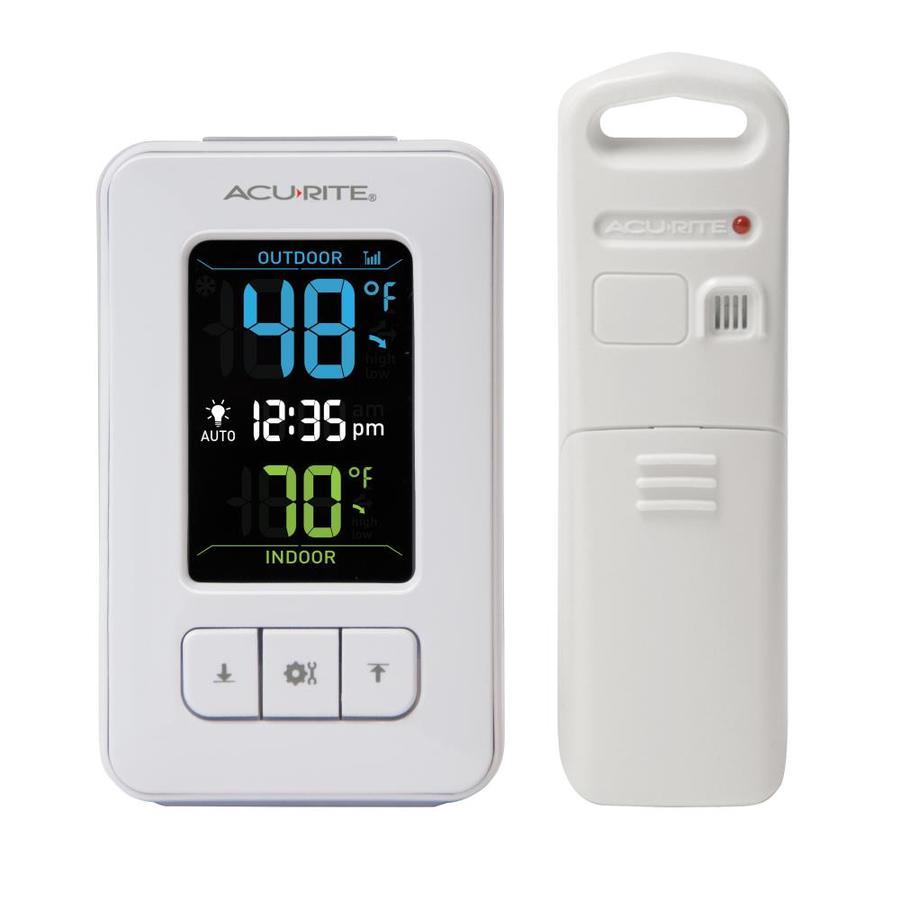 Shop Acurite Digital Wireless Indoor Outdoor White