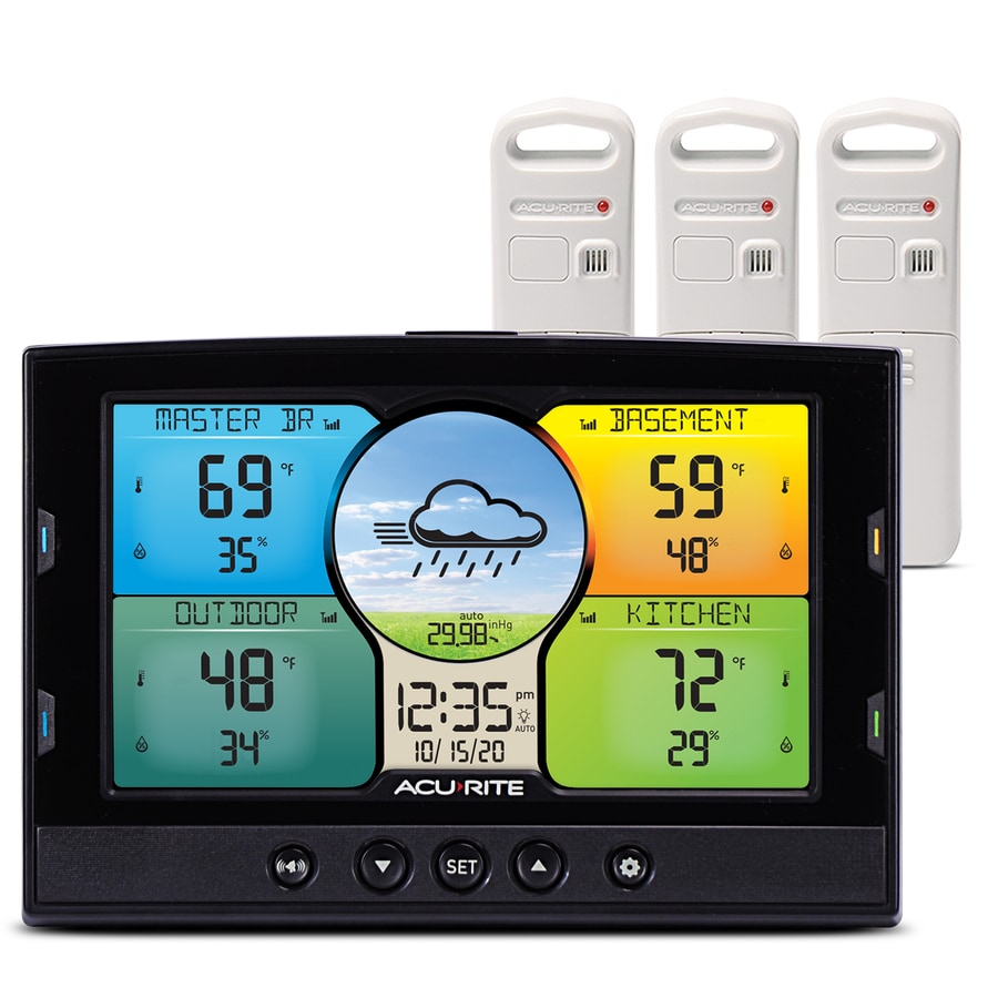 AcuRite Digital Weather Station with Wireless Outdoor Sensor