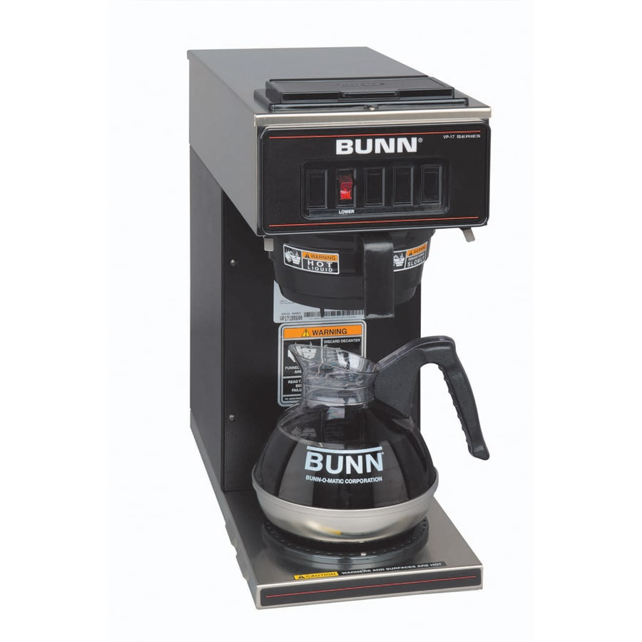 Coffee Maker Reviews Bunn : Shop BUNN Black 12-Cup Coffee Maker at Lowes.com