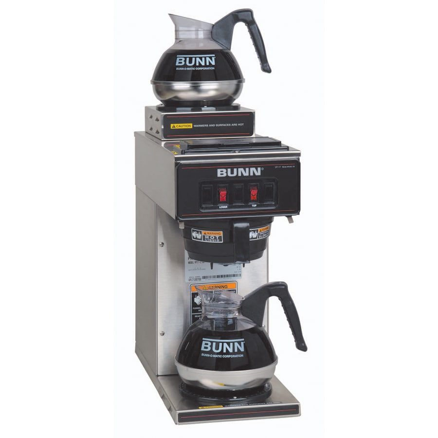 Bunn Percolator Coffee Maker : Shop BUNN Stainless Steel 12-Cup Coffee Maker at Lowes.com