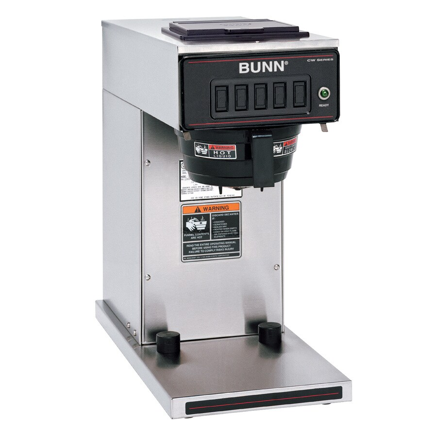Coffee Maker Home Hardware : Shop BUNN Stainless Steel 12-Cup Programmable Coffee Maker at Lowes.com