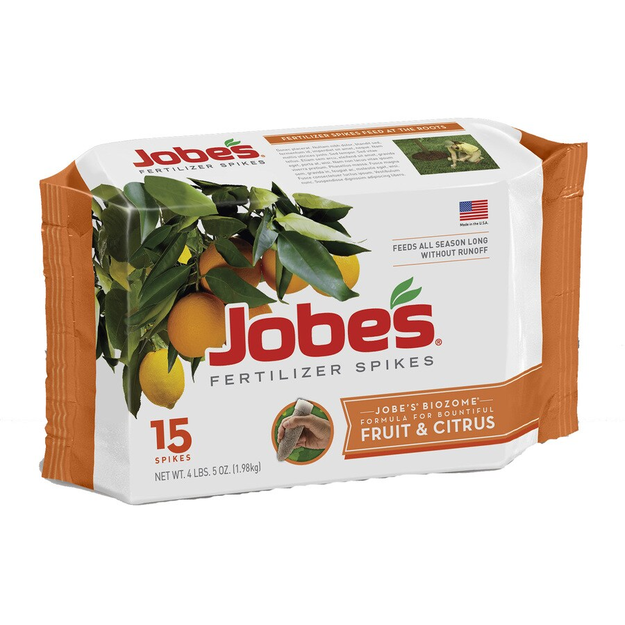 Jobe's 15-Count Tree and Shrub Food (9-12-12)