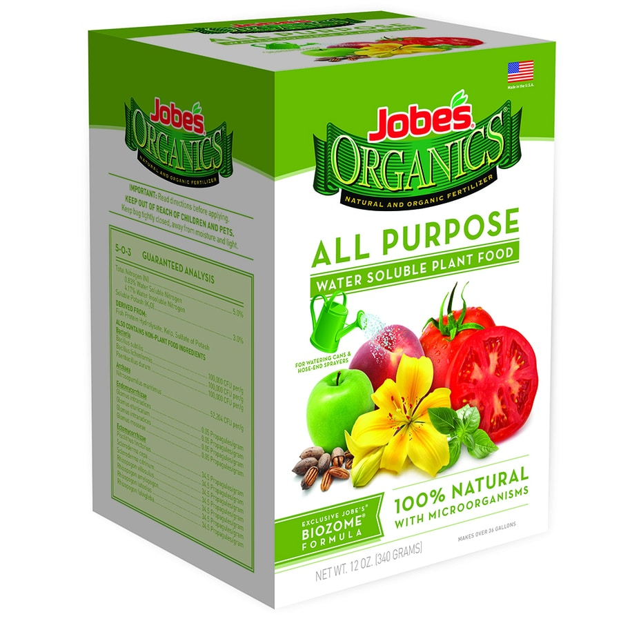 Jobe's Organics Organics 10-oz Organic/Natural All Purpose Food (5-2-3)