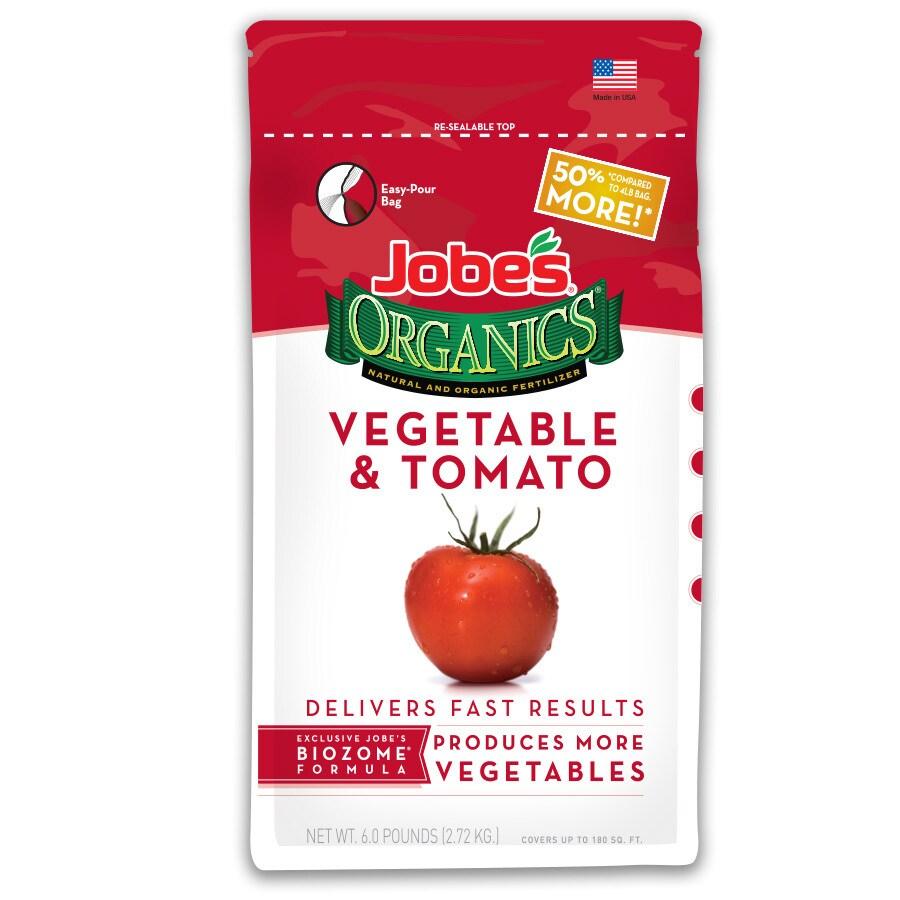 Jobe's Organics Organics 6-lb Organic/Natural Flower and Vegetable Food (2-5-3)