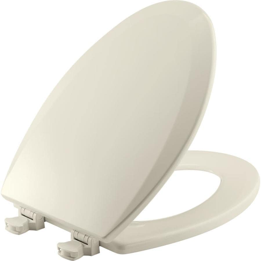 Church Lift-Off Biscuit Wood Elongated Toilet Seat