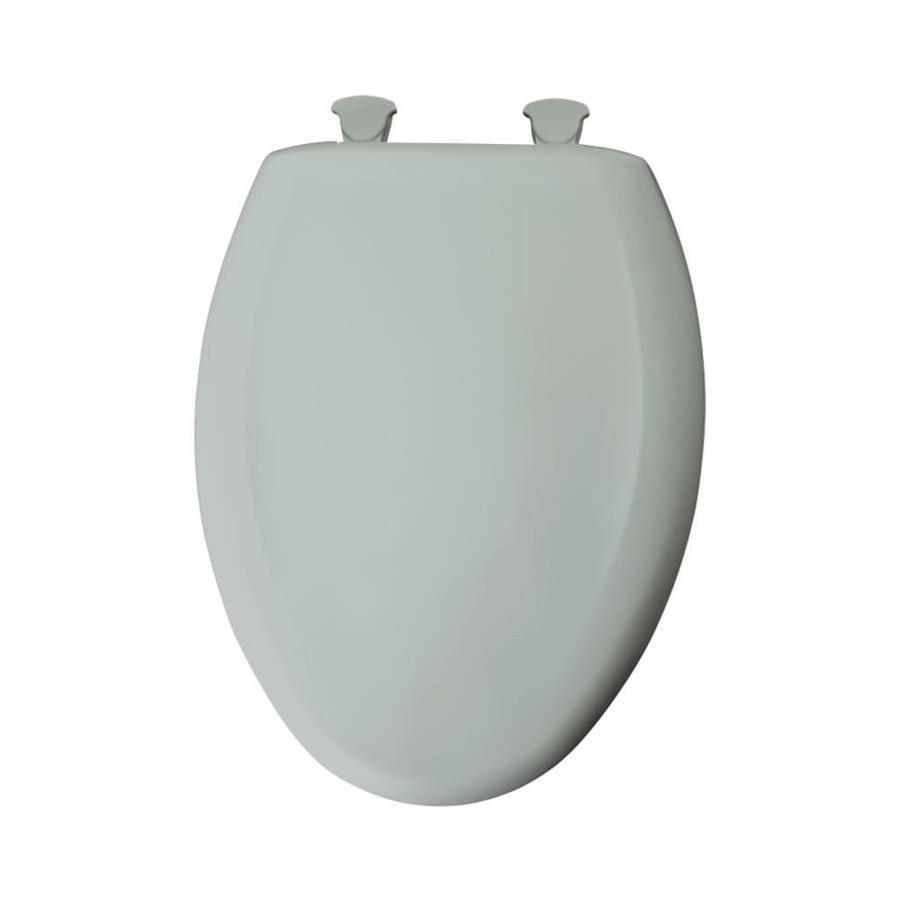 Bemis Lift-Off Sage Plastic Elongated Slow Close Toilet Seat