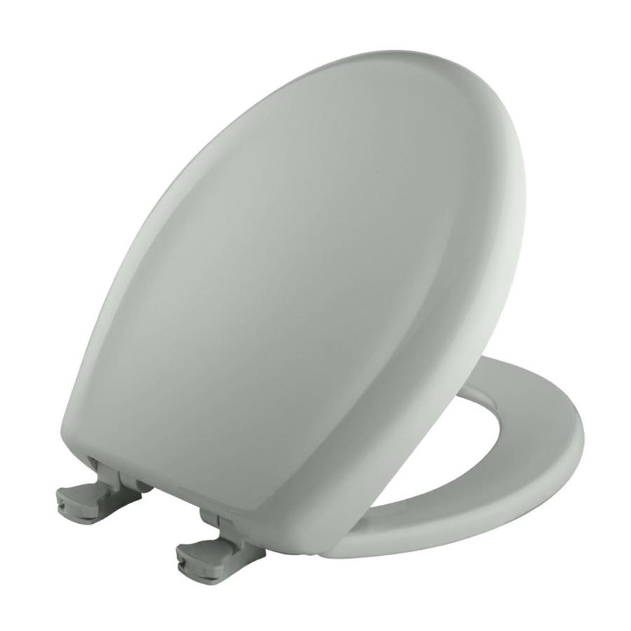 Bemis Lift-Off Sage Plastic Round Slow Close Toilet Seat