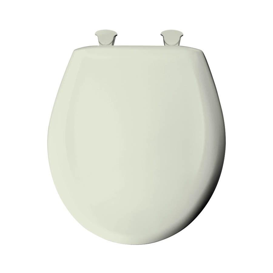 Bemis Lift-Off Silk Plastic Round Slow Close Toilet Seat