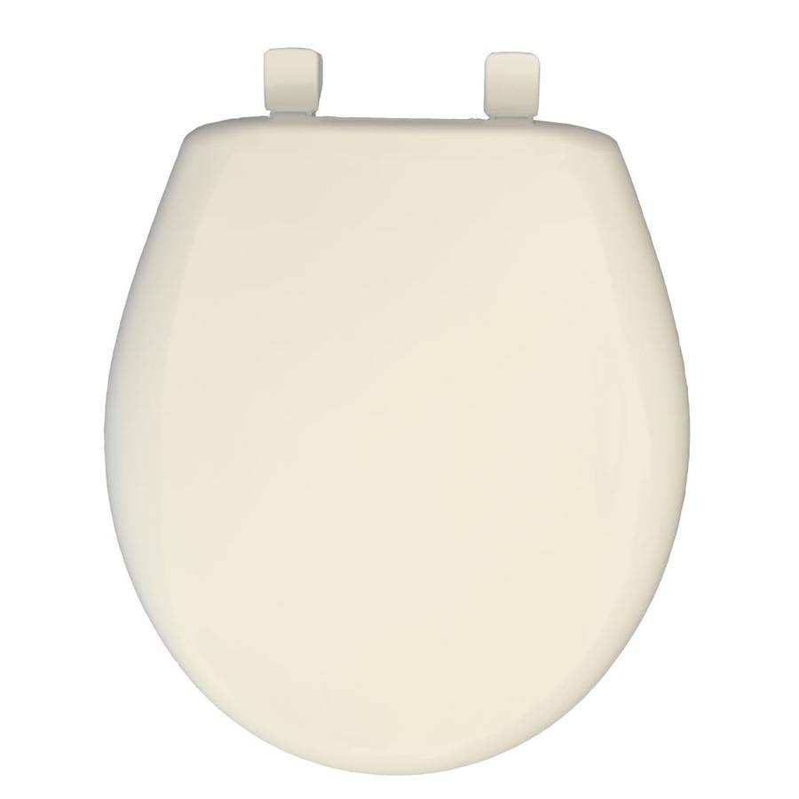 Church Biscuit Plastic Round Slow Close Toilet Seat