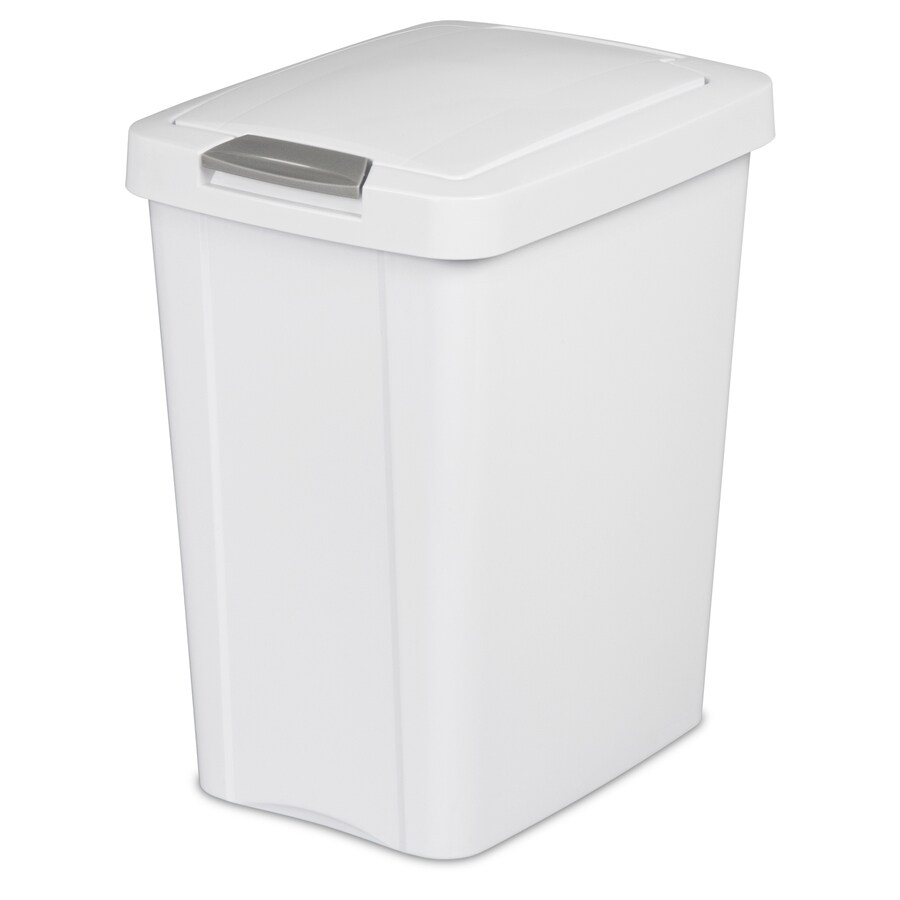 Sterilite Corporation White Wastebasket
