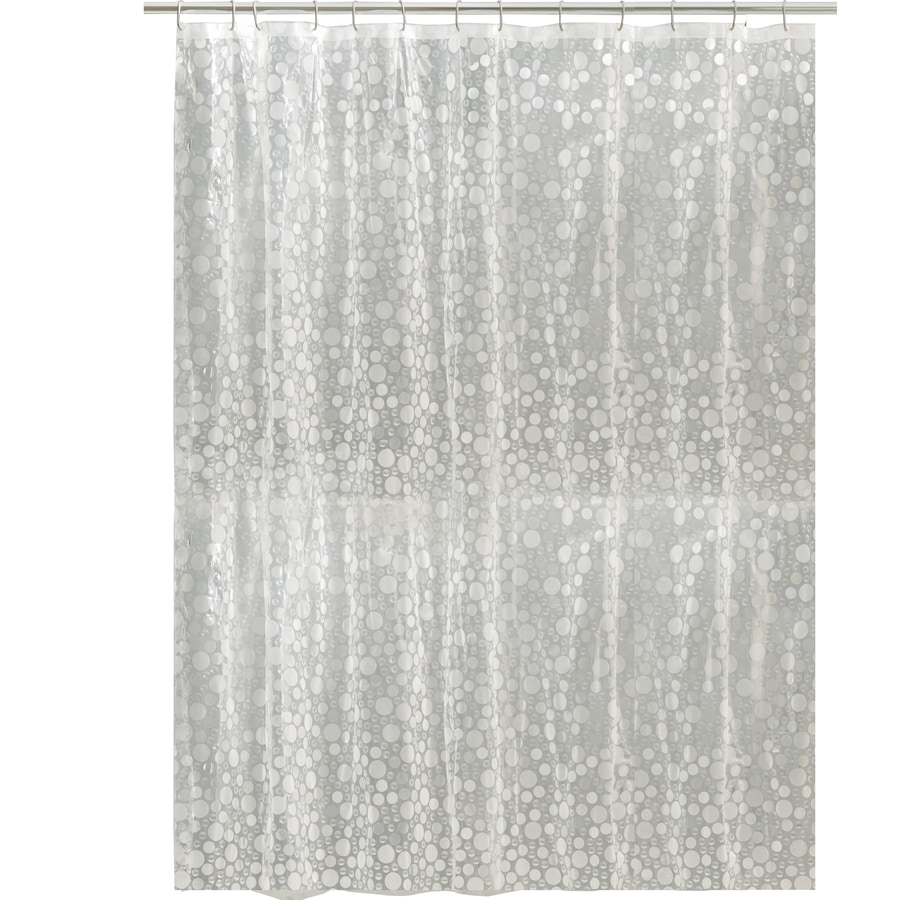 Shop Style Selections EVA/PEVA Clear Shower Curtain at Lowes.com