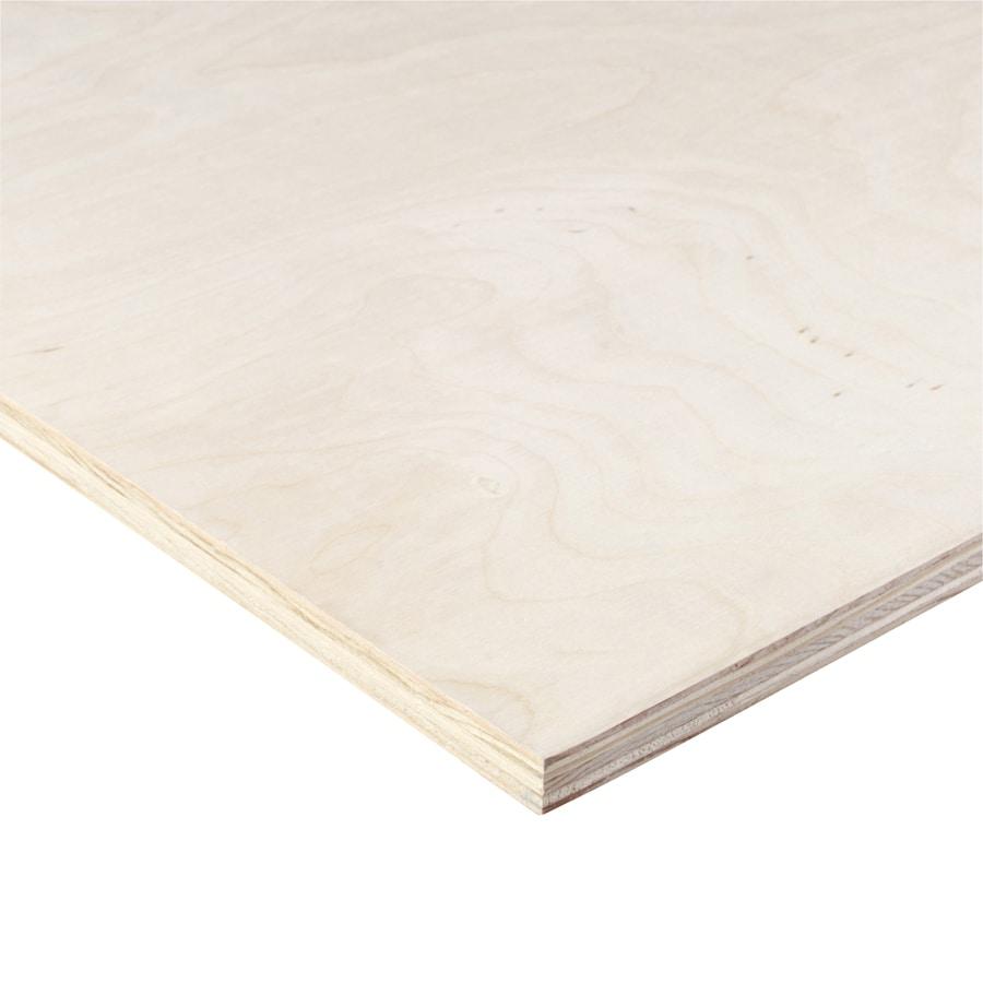 "3/4"" 4X8 Birch Hardwood Plywood"