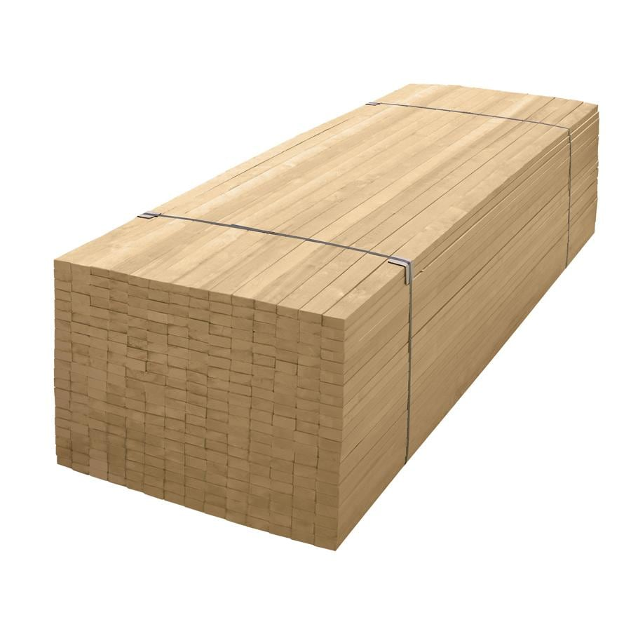 "2"" x 6"" x 24' Kiln-Dried Whitewood Lumber"