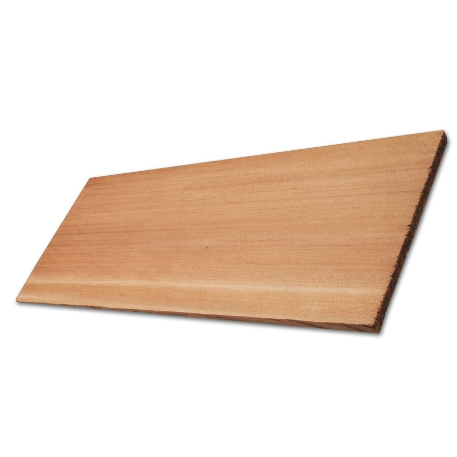 Natural Cedar Cedar Untreated Wood Siding Panel (Common: 1-in x 10-in x 144-in; Actual: 0.6875-in x 9.375-in x 144-in)