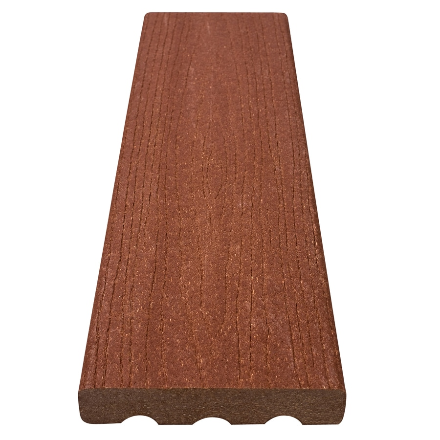 Shop choicedek composite deck board actual 1 in x 5 4 in for 6 inch wide decking boards