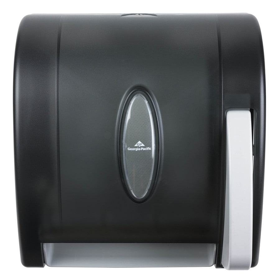 Georgia-Pacific Translucent Smoke Lever Control Paper Towel Dispenser