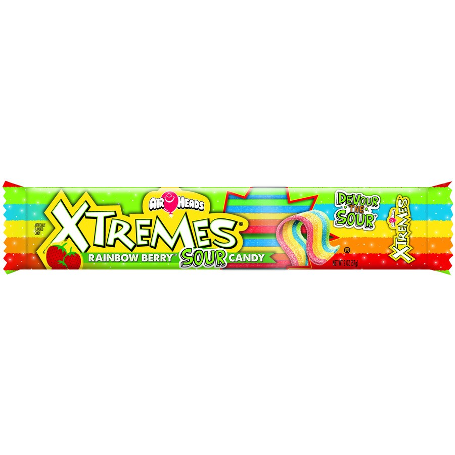Perfetti Van Melle 2-oz Airheads Xtremes Rainbow Berry Soft Confections