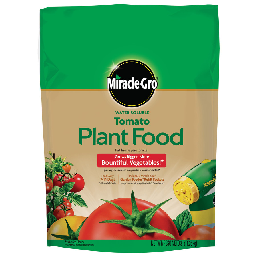 Miracle-Gro 3-lb Flower and Vegetable Food (18-18-21)
