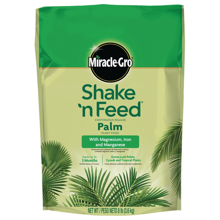 Miracle-Gro Shake and Feed Palm Plant 8-lb  Food (8-8-8)