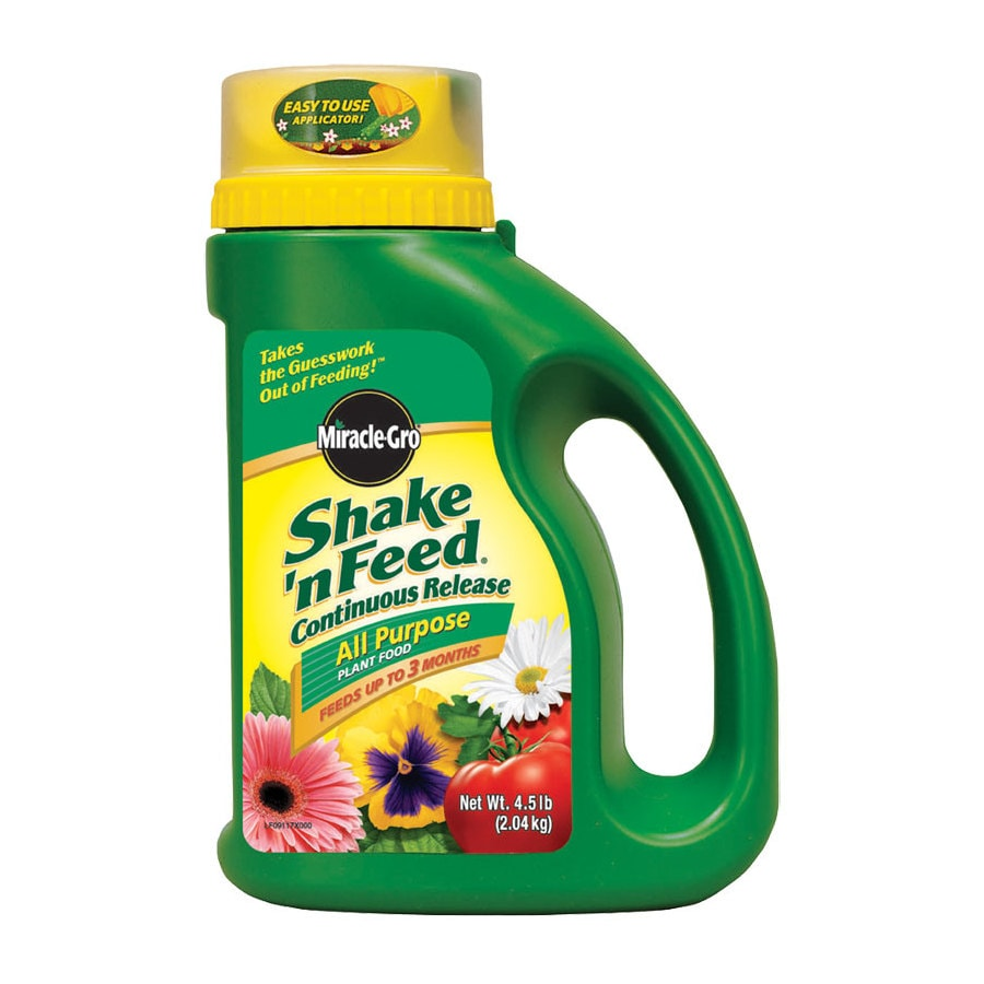 Miracle-Gro Shake 'n Feed 4.5-lb All Purpose Food (10-10-10)
