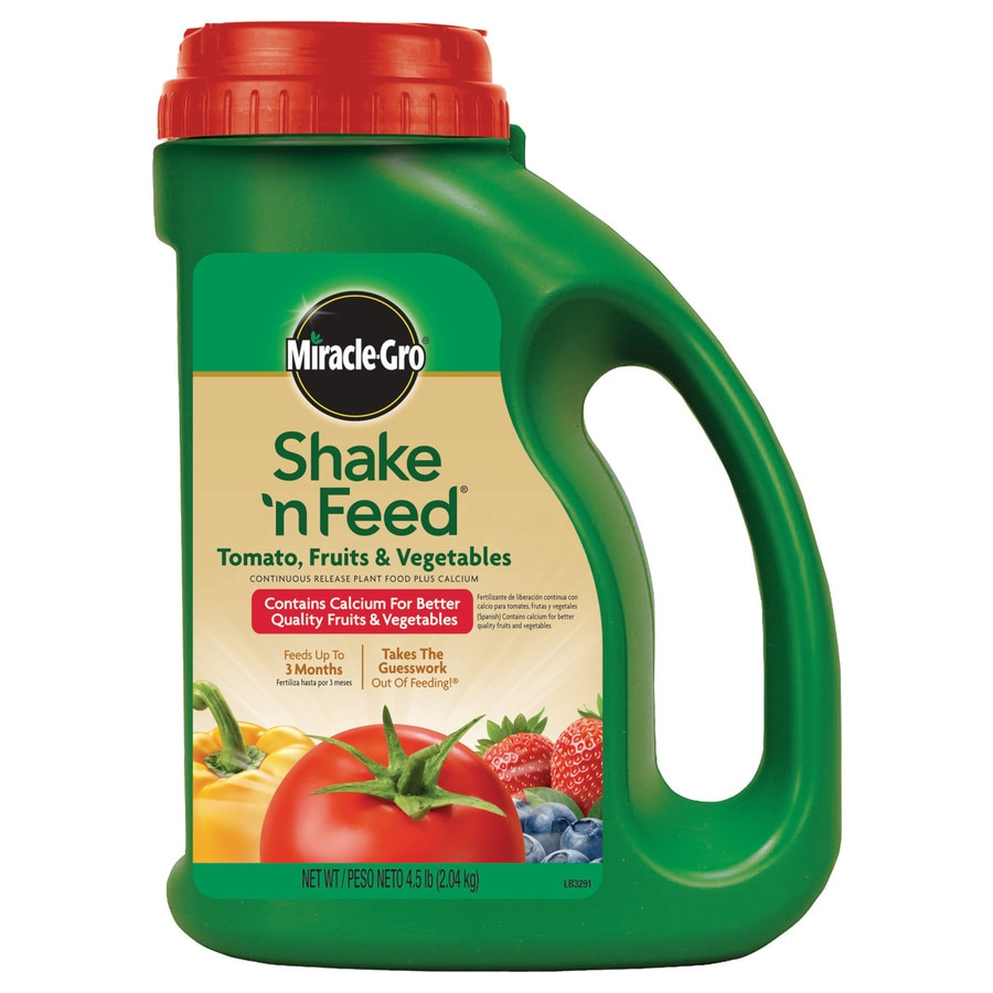 Miracle-Gro Shake 'N Feed Tomato, Fruits and Vegetables Plus Calcium 4.5-lb Food (9-4-12)